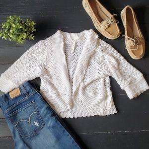 ⚘Leo and Nicole Crochet Shrug